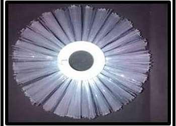 Escova de nylon circular