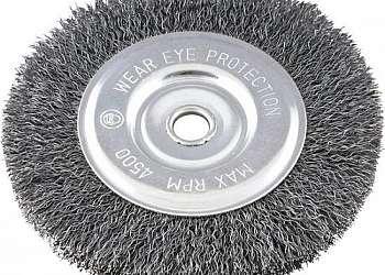 Escova de aço para esmeril