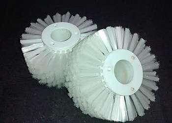 Escova de nylon cilíndrica